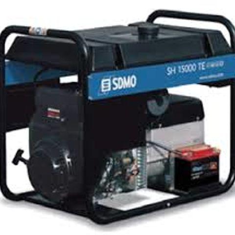 SDMO SH 15000 TE 10kW 220/380V (benzīns)
