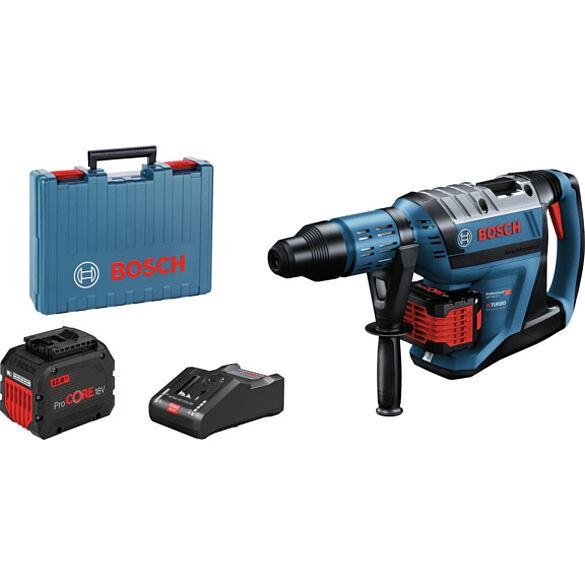Biturbo akumulatora perforators GBH 18V-45 ar 2 x 12,0 Ah ProCORE18V litija-jonu akumulators