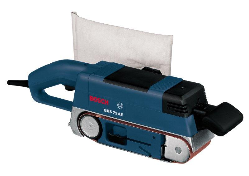Ленточная шлифмашина Bosch GBS 75 A